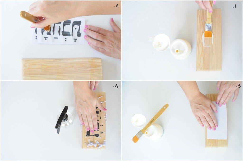 איך מעבירים תמונה לעץ DIY