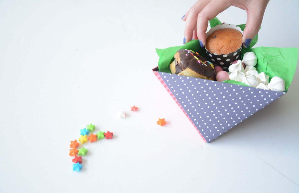 משלוח מנות אוריגמי DIY